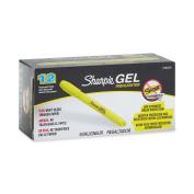 Sharpie 1780478 Accent Gel Highlighter, Fluorescent Yellow, 12-Pack