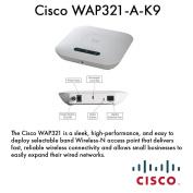 Cisco WAP321-A-K9 Wireless N Selectable Band AP