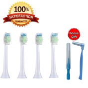 SMILEE Replacement Toothbrush Heads for Philips Sonicare Diamond Clean BEST VALUE Multipack