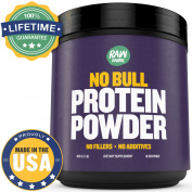 Raw Barrel's - Pure Whey Protein Powder - Unflavored. 453g, 1lb - Instantized Concentrate - 20g Per Serving - With Free Digital Guide And Recipes