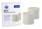 2-Pack - WF2 Humidifier Wicking Compatible Filter