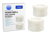 2-PACK Honeywell HAC-504AW Humidifier Compatible Filter, Filter A