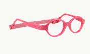 Miraflex Baby Lux2 Kids Eye Glass Frames | 40/14 Burgundy Pearl | Age:5-7