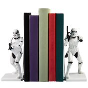 Star Wars Stormtrooper Decorative Bookends - Resin Statues 17cm Tall