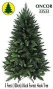 1.5m Eco-Friendly Oncor Black Forest Christmas Tree