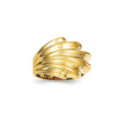 Yellow-gold 14k High Polished Dome Ring