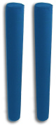 90cm Pair of Boat Trailer Guide Pole Pad and Cover - Heavy Duty Canvas - Capped Ends - UV Treated - Made in USA - ROYAL BLUE