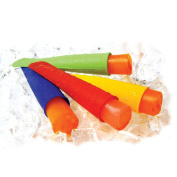 Tinksky Ice Cream Makers Moulds 7 Colours Soft Silicone Push Up Ice Lolly Pop