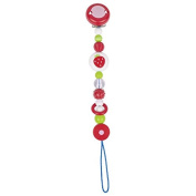 Soother chain strawberry - Heimess Strawberry Soother Holder