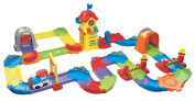 VTech Early Education Toy Go Go Smart Wheels Chug and Go Railroad Train Set Music Toy for Kids