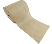 Burlap and Beyond 36cm Natural Burlap Roll - 100 Yards Eco-Friendly Jute Burlap Fabric Unfinished Edges 36cm
