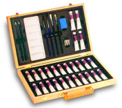 Reeves 8590303 Superior Wooden Box Oil Painting Set