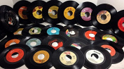 (25) 18cm Vinyl Records for Crafts & Decoration