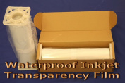 Waterproof Inkjet Transparency Film for Silk Screen 33cm x 30m - 1 Roll