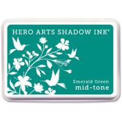 Hero Arts Shadow Ink Pad, Emerald Green