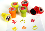 Playscene™ Nature Self Inking Stamps For Kids