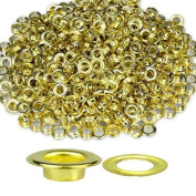 Trimming Shop 100 X 14mm Brass Grommets For Banners Rustproof Eyelets For Adding Decorative Ribbons Lacing And Fabric In Art And Sewing Projects Gold