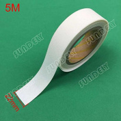 """SUNDELY® White Colour Hot Melt Seam Sealing Tape Roll 0.86"""" X 16' (22mm X 5m) with 3 Layer for Waterproof Fabrics Sportswear"""