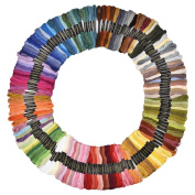 eBoot 150 Pieces Multi-colour Cotton Cross Stitch Embroidery Threads Crafts Floss Sewing Threads