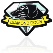 Metal Gear Solid 3D Diamond Dogs Emblem hook and loop Patch