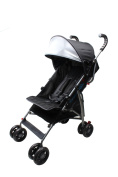 Wonder Buggy Cameron City Street Multi Position Stroller With Canopy & Storage Basket