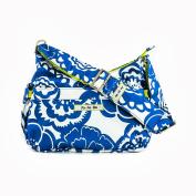 Ju-Ju-Be HoboBe Purse Nappy Bag, Cobalt Blossoms