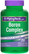 Triple Action Boron Complex 3 mg 200 Capsules