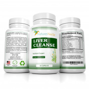 Liver Cleanse & Detox Supplement Support Formula- With Herbs