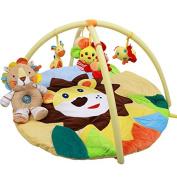 Charming Animal Kingdom Musical Activity Kick and Play Piano Gym , lions
