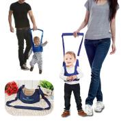 JJOnlineStore - Babywalker Baby Toddler Parenting Walking Assistant Protective Belt Carry Trooper Walking Harness Learning Assistant Walk Safety Reins Harness Wings Belt - Blue