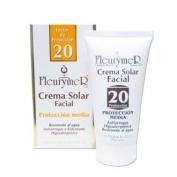 Fleurymer Crema solar facial SPF-20 tubo 80 Ml