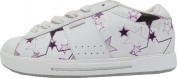 Osiris Skate Shoes Serve Girls White/Berry/Stars