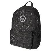 Hype Unisex Black/White Speckle Rucksack/Backpack Bag BACK TO SCHOOL