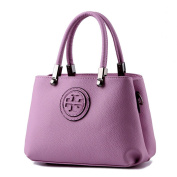 HerHe Sweety Womens Small Size 2 Layers Multifunction Soft Leather Tote Bags Light Satchels