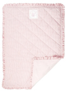Once Upon a Time Pink Gingham Cot Blanket, Playmat