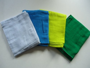 Pippi Baby Girls Nappies Solid 8 Pack Scarf