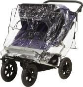 Playshoes 448962 Universal Pushchair Rain Cover for Twin/Tandem Pushchair with Window