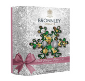 H. Bronnley & Co Pink Bouquet Body Gift Set