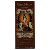 SITARAMA Henné Colour - Henna Colouring Cream - Dark Chestnut - Free from oxidants, ammonia, p-phenylenediamine (PPD), resorcinol, synthetic fragrances, and heavy metals
