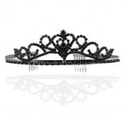 ROSENICE Tiara Bridal Headpieces Rhinestone Princess Tiara Baroque Headbands