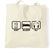 Dj Cool Clubbing Party Techno DnB Garage House Music Shopping Carrier Tote Bag