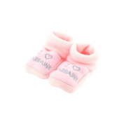 baby booties Pink 0-3 Months - Like godmother