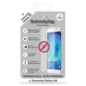 Puro SDGGALAXYA8SG Tempered Glass Screen Protector for Galaxy-Transparent (A8