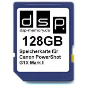 DSP Memory Z 4051557428874 128 GB Memory Card for Canon PowerShot G1X Mark II