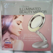 Carino Pro Ultra Illuminated Beauty Mirror - Make Up Mirror - Shaving Mirror - 5 Fold - Swivel
