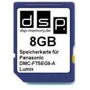 DSP Memory Z 4051557430372 8 GB microSD Memory Card for Panasonic Lumix FT5EG9 A