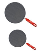 Pack Of 2 Splatter Guard Set Frying Pan Anti Splash Screen Cover Mesh Metal Wired