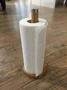 "Kela Kitchen Roll Holder ""Katana"" 32x14cm of Bamboo, Beige"