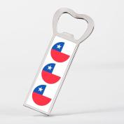 Chile Flag Bandera Chilena Bottle Opener Fridge Magnet