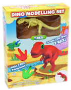 Dinosaur Dino Clay Dough Modelling Kit Create Your Own T Rex